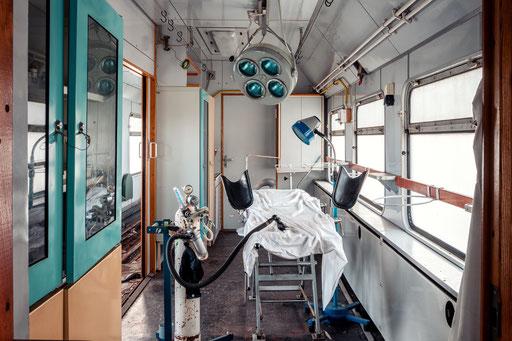 ehemaliger OP-Zug vom Katastrophenschutz der DDR