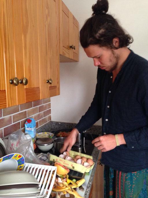 Kochen in der Casa Domingo