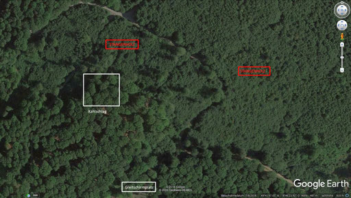 Satellitenbild - Orientierungshilfe