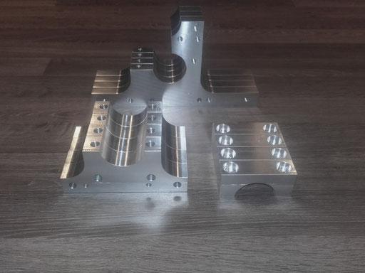 serie aluminum machinebouw onderdelen