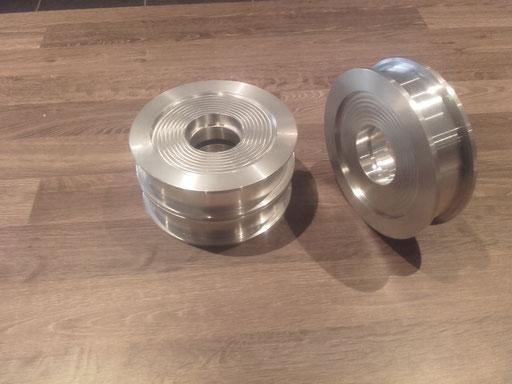 aluminium pully 's