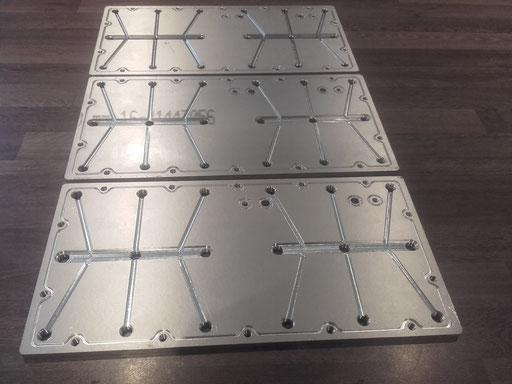 aluminium vacuum platen