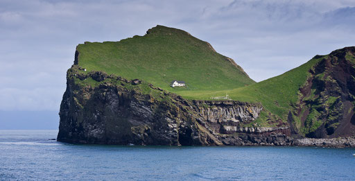 Ellidaey, la première île