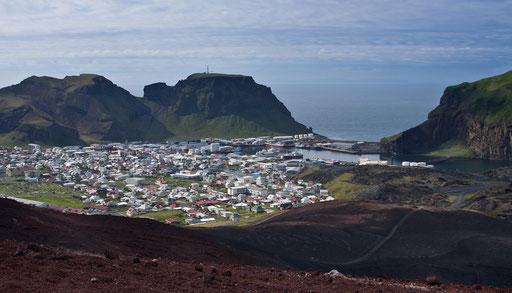 Vue depuis le volcan