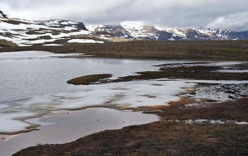 Sur la route 953 en direction des fjords