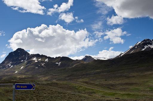 Sur la route vers Akureyri