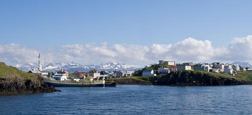 Le port de Stykkisholmur