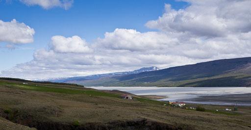 Sur la route 931, le long de Lagarfljot