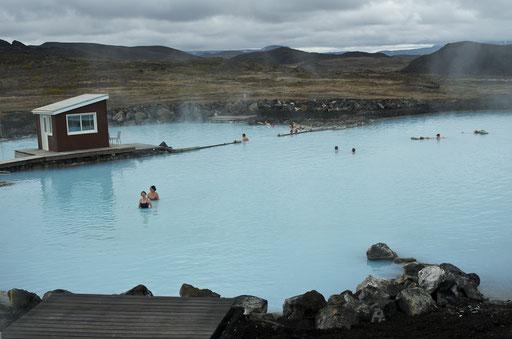Les bains chauds de Jardbödinvid Myvatn