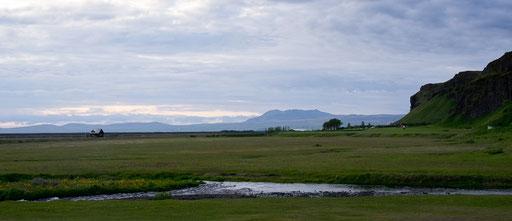 Aux pieds de Seljalandsfoss, 21h40