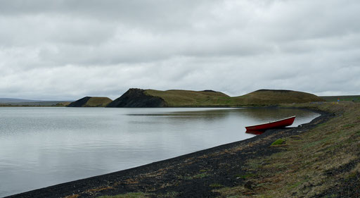Le lac Myvatn
