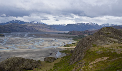 Vue sur Vatnajökull, le plus grand glacier Islandais (aussi grand que la Corse !)