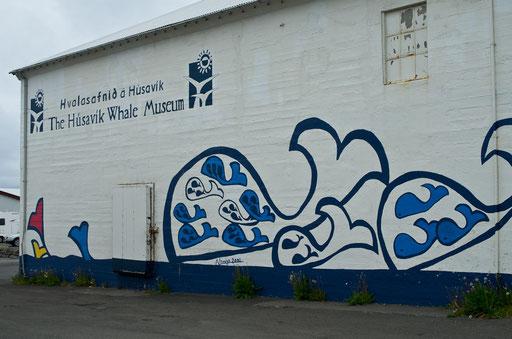 Husavik, office de tourisme et musée de la baleine