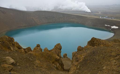 Le cratère de Viti