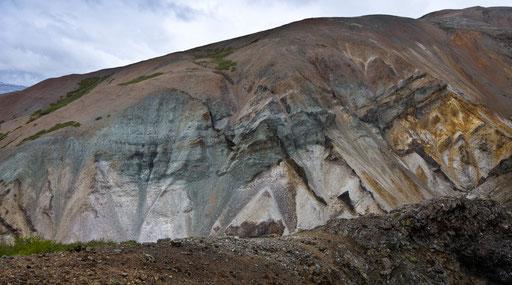 Toute la palette du peintre sur une montagne...