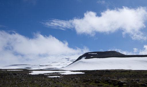 Montée vers le glacier Snaefellsjökull, 1446m
