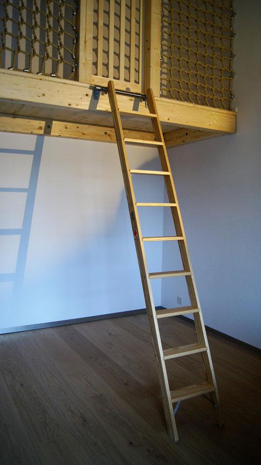 Galerie mit Leiter