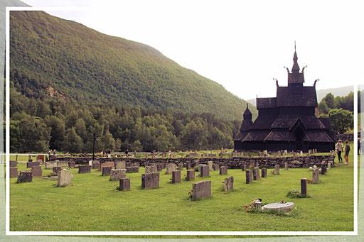 Die Stabkirche Borgund, ein Weltkulturerbe