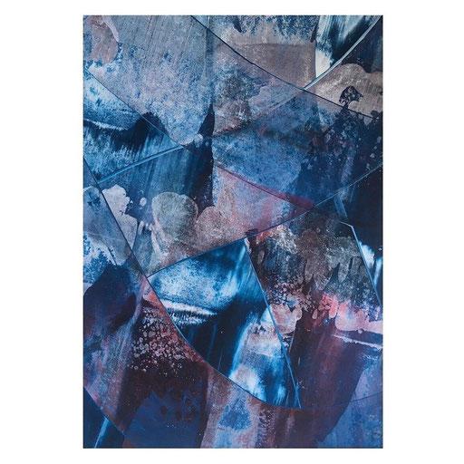 new blue thing (28x40, #71/2020)