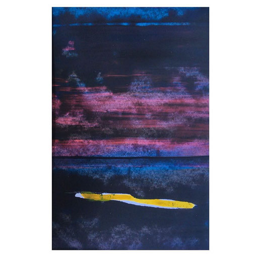 the yellow stroke (13x18, #45/2020)