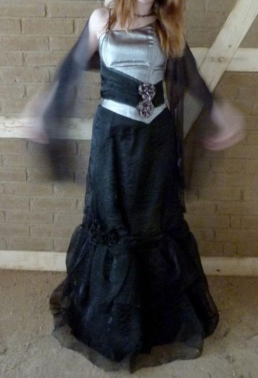 Schwarzer weiter Rock - Anna Majer Modestudio - 20 €