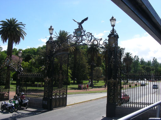 Eingangspforte zum Parque San Martin