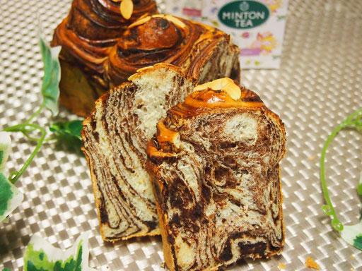 うずまきチョコシートパン(1本) 断面がキレイな層になります