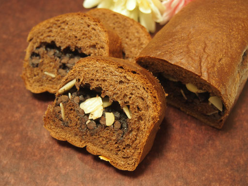 冷やしチョコ 1ヶ月冷蔵庫、冷凍庫の中で日持ちするチョコレートのパンです