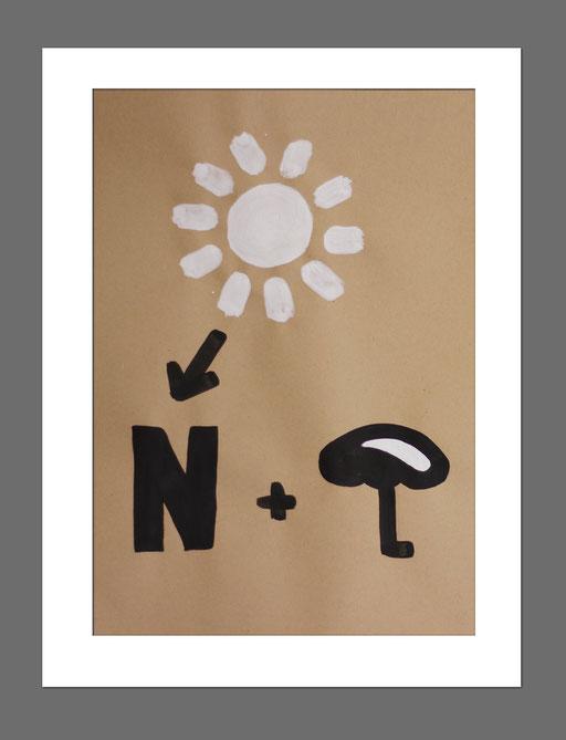Icon Art | Rebus 4 | 21x29,7 cm | Acryl