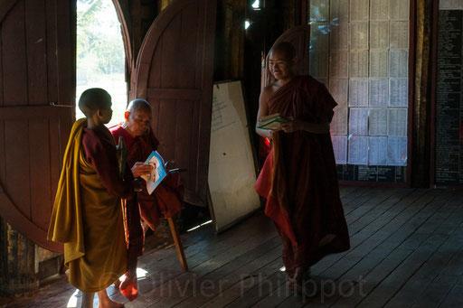 Birmanie - Monastère Shwé Yan Pyay
