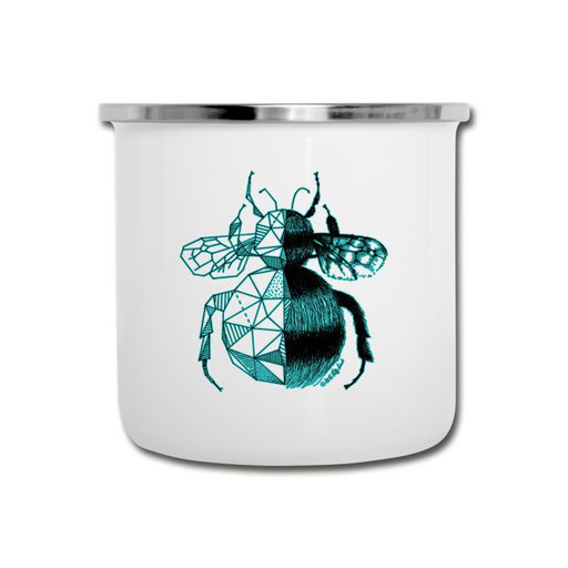 All The Fluffy Animals - Emaille-Tasse Hummel