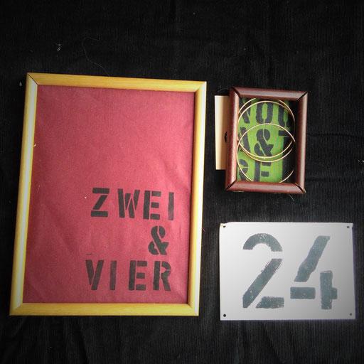 6. Numbers - Bildertrio für den Zahlenliebhaber.