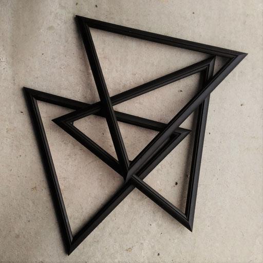 14. Die fünf schwarzen - Dreiecke für Bilder und allerlei Kunst