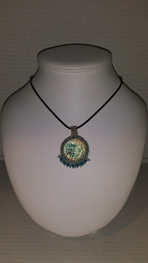 Collier Cabochon  Artisanal
