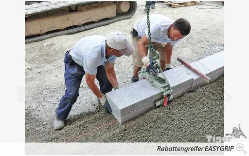 Rabattengreifer EASYGRIP - Baustelle