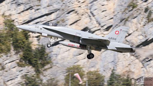 F/A-18 J-5012 takeoff rwy 28