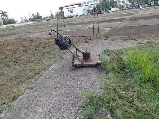 Selbstgebauter Rasenmäher