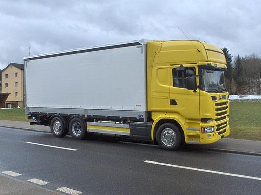 Brückenaufbau - Alois Birrer AG Fahrzeugbau Hofstatt