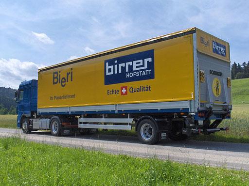 Sattelauflieger - Alois Birrer AG Fahrzeugbau Hofstatt
