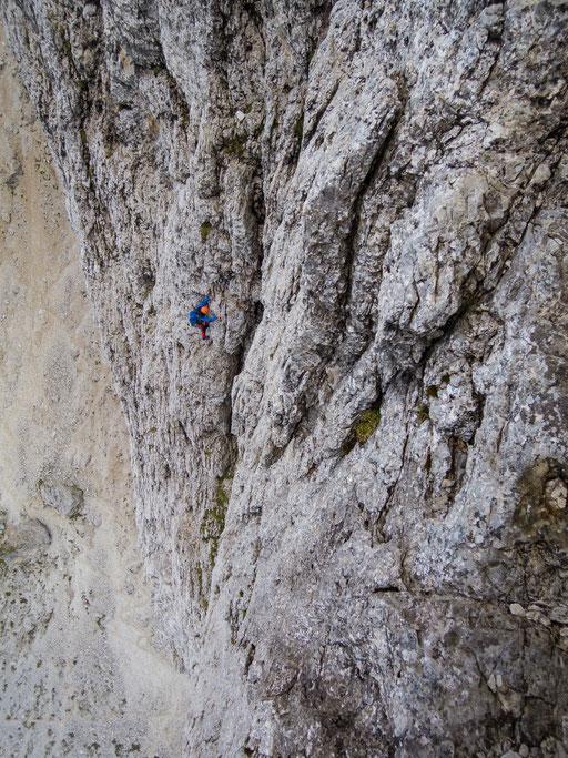 Klettern rund um den Sellapass, Südtirol