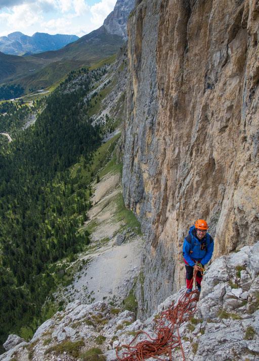 Klettern mit Extrembergsteiger Georg Bachler