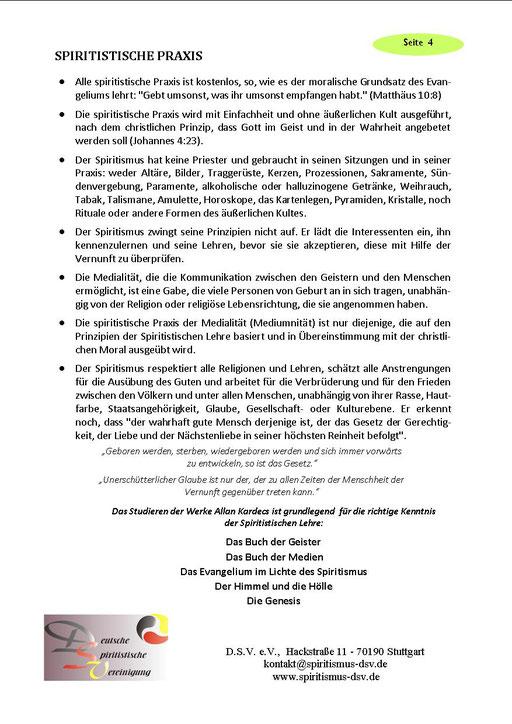 Broschüre Lernen Sie den Spiritismus kennen - Seite 04