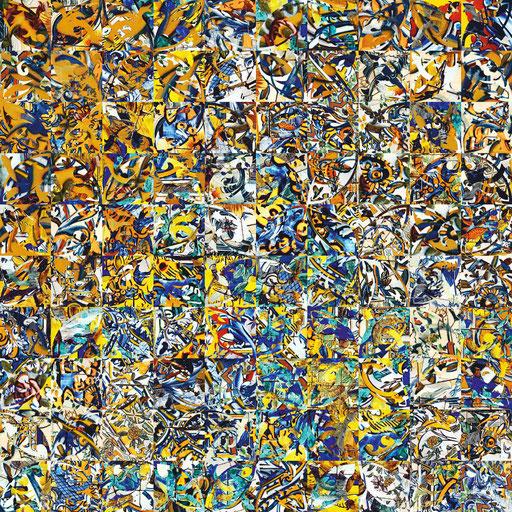 Lisboa Nr. 2 | 1.00 x 1.00 m | Fotocollage digital auf Hahnemühle FineArt Papier | Auflage 5 Stück