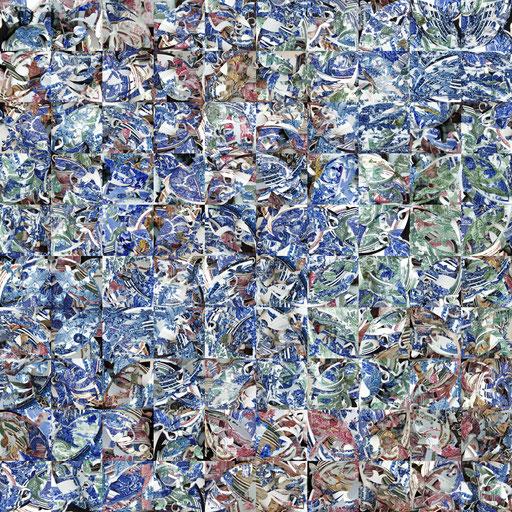 Lisboa Nr. 1 | 1.00 x 1.00 m | Fotocollage digital auf Hahnemühle FineArt Papier | Auflage 5 Stück