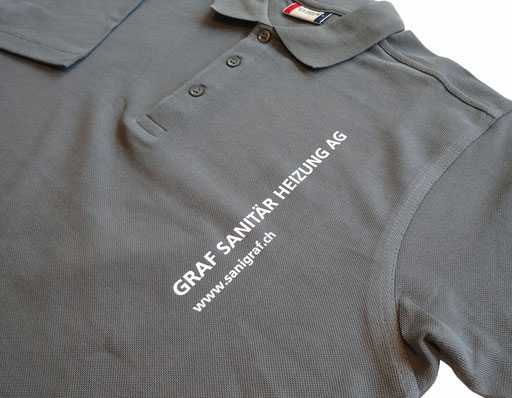 Polo Shirt bedruckt