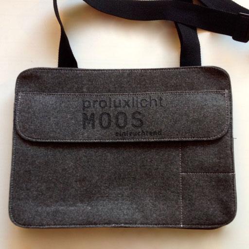 Tasche mit Lasergravur