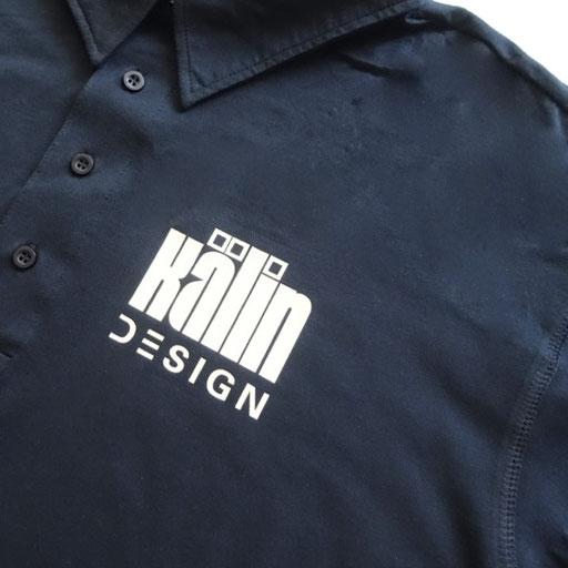 bedrucktes Polo-Shirt