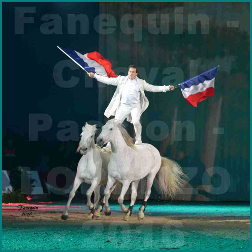 Cheval Passion 2016 - Spectacle les Crinières d'OR - LORENZO