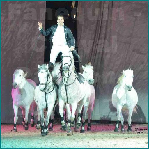 Cheval Passion 2016 - Spectacle les Crinières d'OR - LORENZO