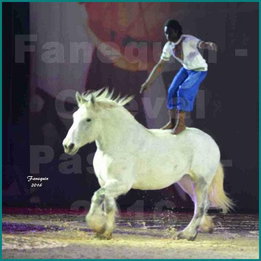 Cheval Passion 2016 - Spectacle les Crinières d'OR - Samuel HAFRAD